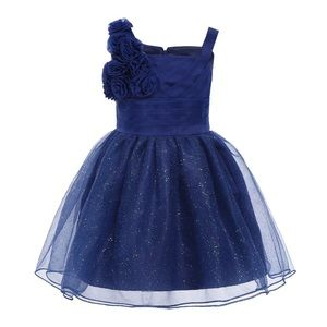 Other - NWT Sparkly Blue Pageant Dress